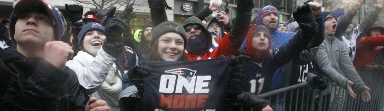 College study: Patriots have NFL's 2nd-best fan base