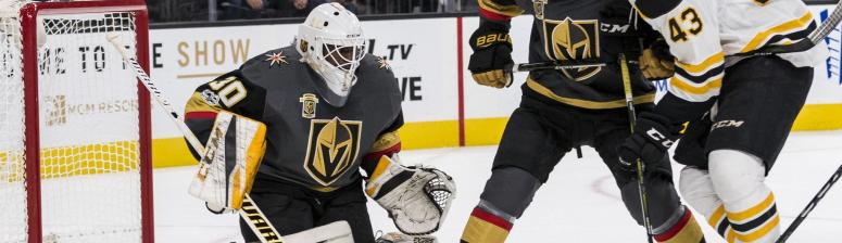 Golden Knights 3, Bruins 1: Bruins spoil road trip with loss to Malcolm Subban