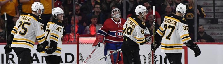 Bruins 4, Canadiens 1: David Pastrnak takes charge for win