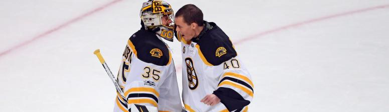 With Tuukka Rask (undisclosed) out, Anton Khudobin starts vs. Canucks