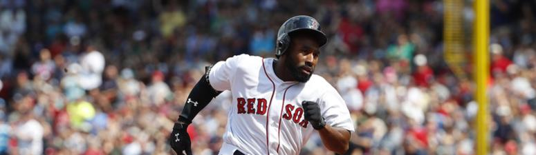 Report: Red Sox making Jackie Bradley Jr. available in trade talks for a power bat