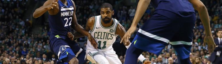Celtics 91, Timberwolves 84: Kyrie Irving reflects on first year in Boston