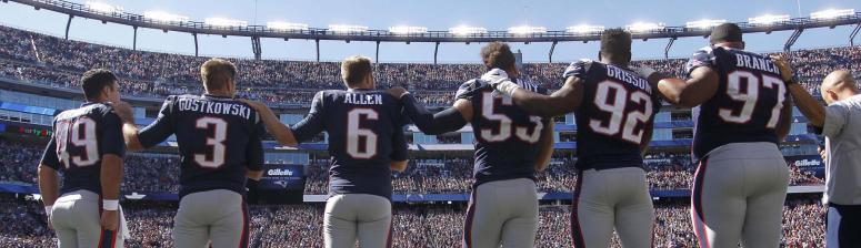 Patriots local TV ratings are down this season