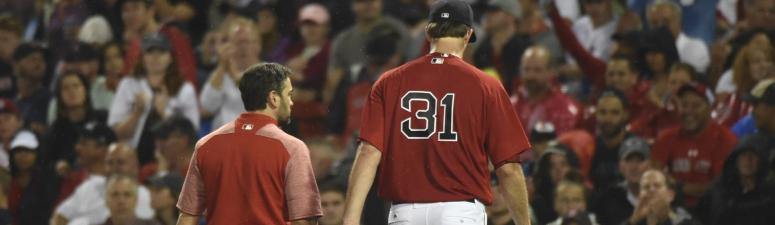 Drew Pomeranz not concerned after exiting with back issue