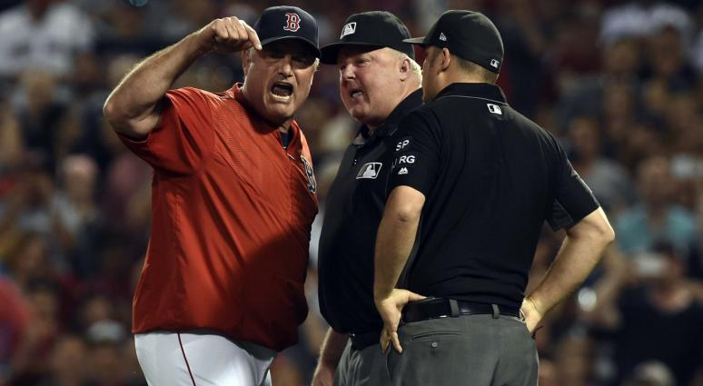 John Farrell goes nutty on umpire after ejection