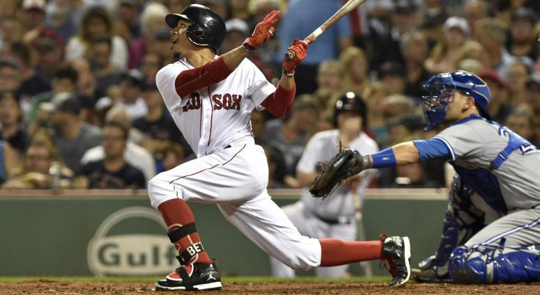 Red Sox lineup: No Mookie Betts, Dustin Pedroia