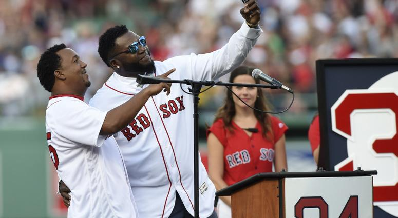 David Ortiz and Pedro Martinez