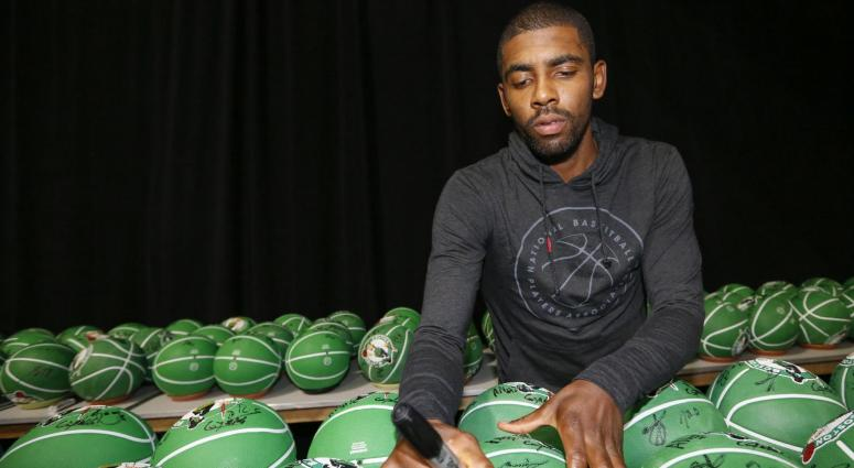 Anderson: Kyrie Irving is Boston's most interesting athlete