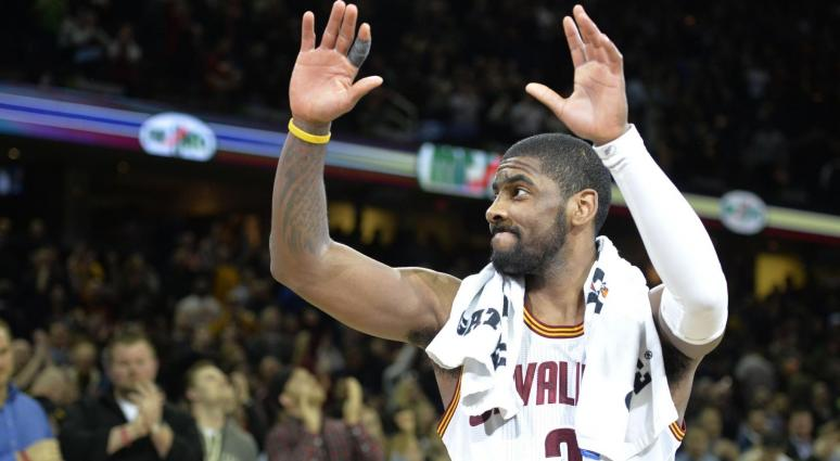 Kyrie Irving applauds Bostonians for offering help when his car broke down