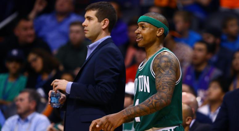 Brad Stevens says Isaiah Thomas will have hip scanned next month