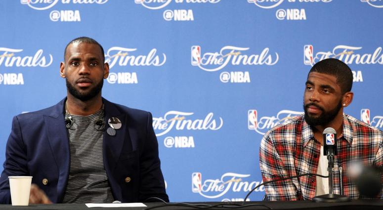 Anderson: Focusing on what Kyrie said about LeBron is you missing the point