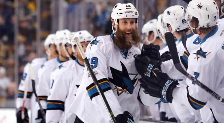 Joe Thornton spent the first seven and a half years of his career in Boston.