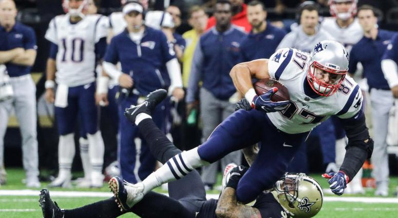 Rob Gronkowski apparently doesn't participate in Patriots practice, Marcus Cannon has concussion