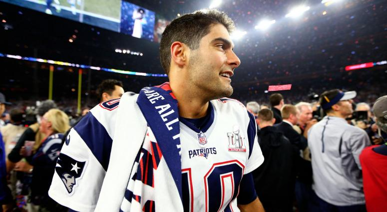 Sunday 7: Why Jimmy Garoppolo is so important to 2017 Patriots