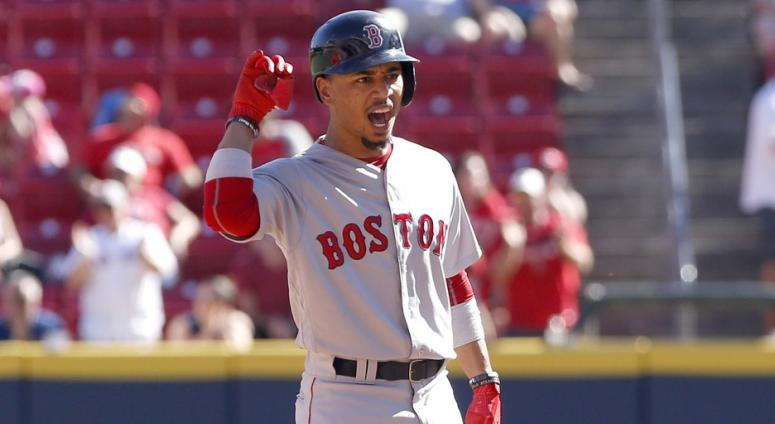 Red Sox 5, Reds 4: Mookie Betts is starting to feel like Mookie Betts