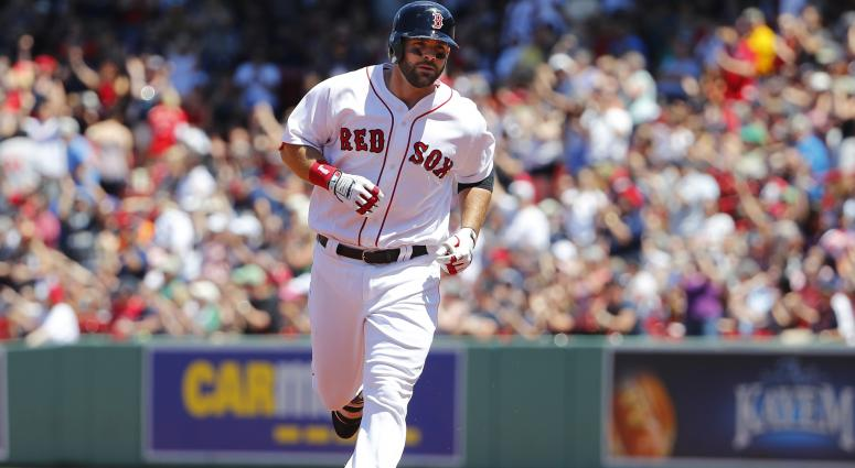 Mitch Moreland becoming 'bedrock' in Red Sox lineup