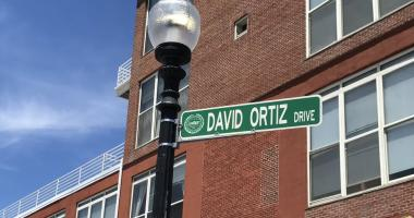 Watch: David Ortiz Drive unveiled outside Fenway Park