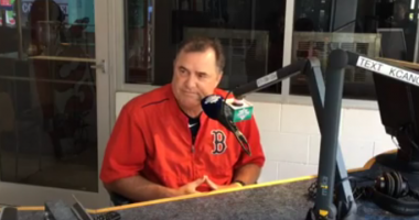 Rich Keefe spars with John Farrell on D&H