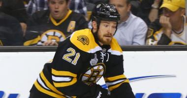 Bruins defenseman Andrew Ference in the 2013 Stanley Cup Finals.