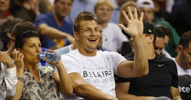 Rob Gronkowski and Co. apparently spent over $100,000 at Foxwoods this weekend