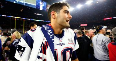 20 most important Patriots in 2017: No. 7, Jimmy Garoppolo