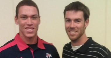 Aaron Judge (left) and Doug Fister