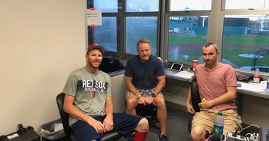 Photos: WEEI at Red Sox Spring Training