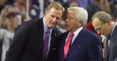 Roger Goodell: 'My friendship with Robert [Kraft] was never strained' because of Deflategate