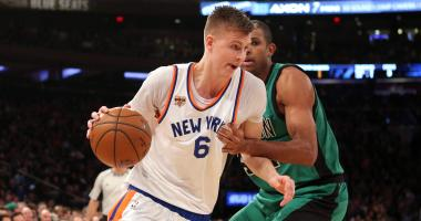 Report: Celtics are interested in acquiring Kristaps Porzingis