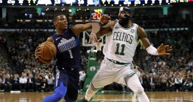 Kyrie Irving vs. Dennis Smith Jr. poses exciting matchup for present and future
