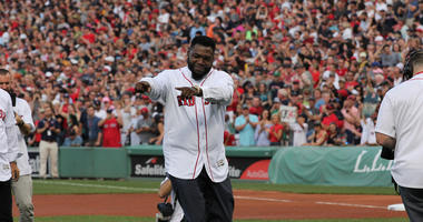 Photos: Red Sox retire David Ortiz's No. 34