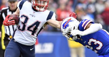 Rex Burkhead (knee) reportedly expected to return for AFC title game
