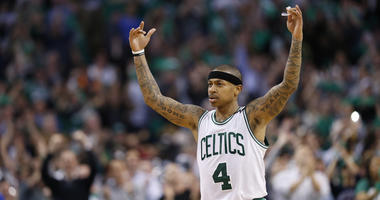 Isaiah Thomas recruits Blake Griffin to Celtics minutes after Chris Paul trade
