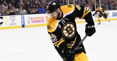 David Krejci, Adam McQuaid injured in win over Canucks