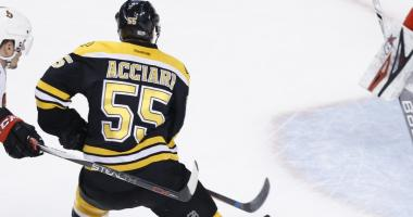 Bruins re-sign Noel Acciari to two-year deal