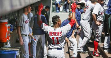 Coolest Play of the Week: Rafael Devers hits first big-league home run