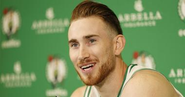 Gordon Hayward returned to Celtics' bench to watch dramatic win over Warriors