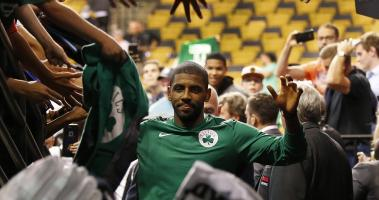 Kyrie Irving (facial fracture) will travel with team, could play vs. Nets