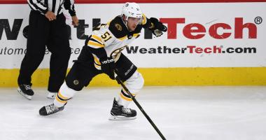Bruins center Ryan Spooner out 4-6 weeks with groin injury