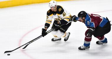 Avalanche 6, Bruins 3: They miss Patrice Bergeron in the worst way