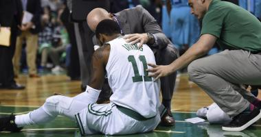 Kyrie Irving expected to miss at least one game with facial fracture