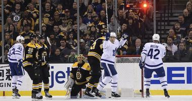 Maple Leafs 4, Bruins 1: Lack of execution leads to embarrassing night for Bruins