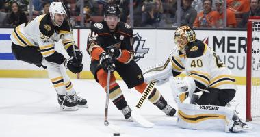 Ducks 4, Bruins 2: Not enough finish in B's game
