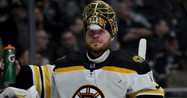 Bruins 2, Kings 1: It's getting tough to take net away from Anton Khudobin