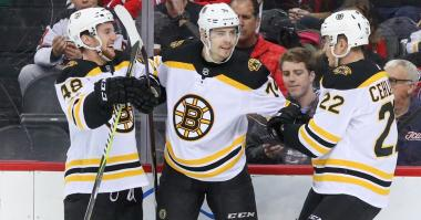 Bruins 3, Devils 2: It begins with Patrice Bergeron and David Krejci