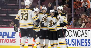 Bruins 3, Flyers 0: Turns out a healthy Bruins team is pretty good