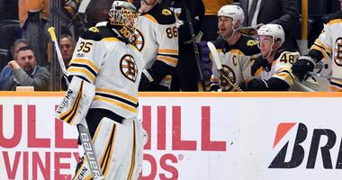 Predators 5, Bruins 3: Anton Khudobin gets early hook in loss