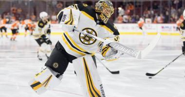 Bruins goalie Anton Khudobin gets start vs. Hurricanes