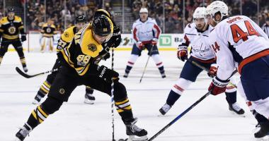 Capitals 5, Bruins 3: B's left chasing on way to 11th straight loss to Capitals