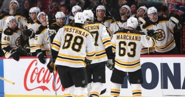 Bruins in Brooklyn looking to extend point streak to 15 games